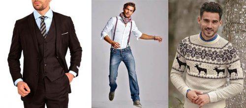 Как одеваться мужчинам на новый 2018 год