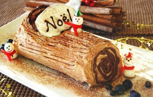 Французское полено на Рождество