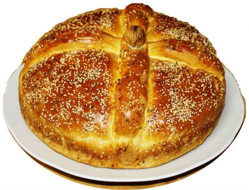 Христопсомо - рождественский пирог в Греции