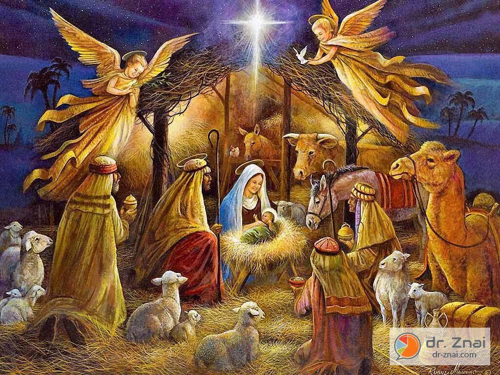 сценарий для детей на рождество христово