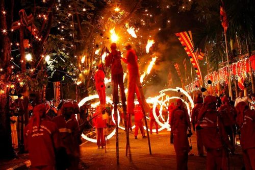 Празднование Рождества в Доминикане