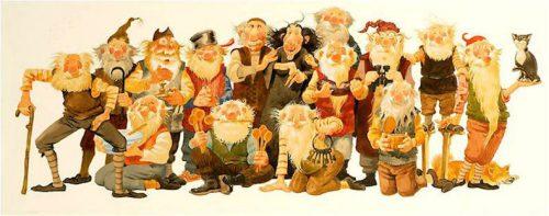 Рождественские святочные персонажи в Исландии