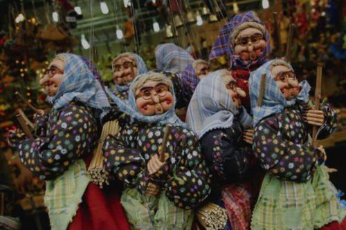 Рождественская колдунья Ла Бефана в Италии