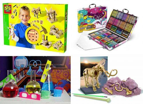 Развивающие игры и наборы для творчества в подарок детям