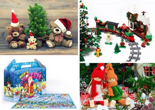 игрушки, как подарок детям на новый год