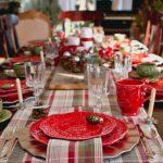 сервировка новогоднего стола в домашних условиях